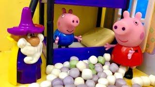 Świnka Peppa i Czarodziej  George teraz moja kolej  Bajki dla dzieci PO POLSKU