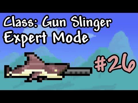 Expert Mode Terraria || Gun Slinger: Megashark || Episode 26