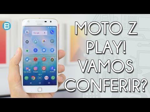 MOTO Z PLAY DE 64GB! UNBOXING E PRIMEIRAS IMPRESSÕES! (2017)