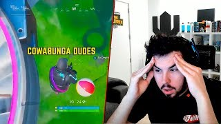 EL TIRO IMPOSIBLE DE FORTNITE | Reaccionando