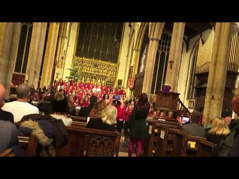 It was on a starry night Aya Elle Choir Christmas 2018