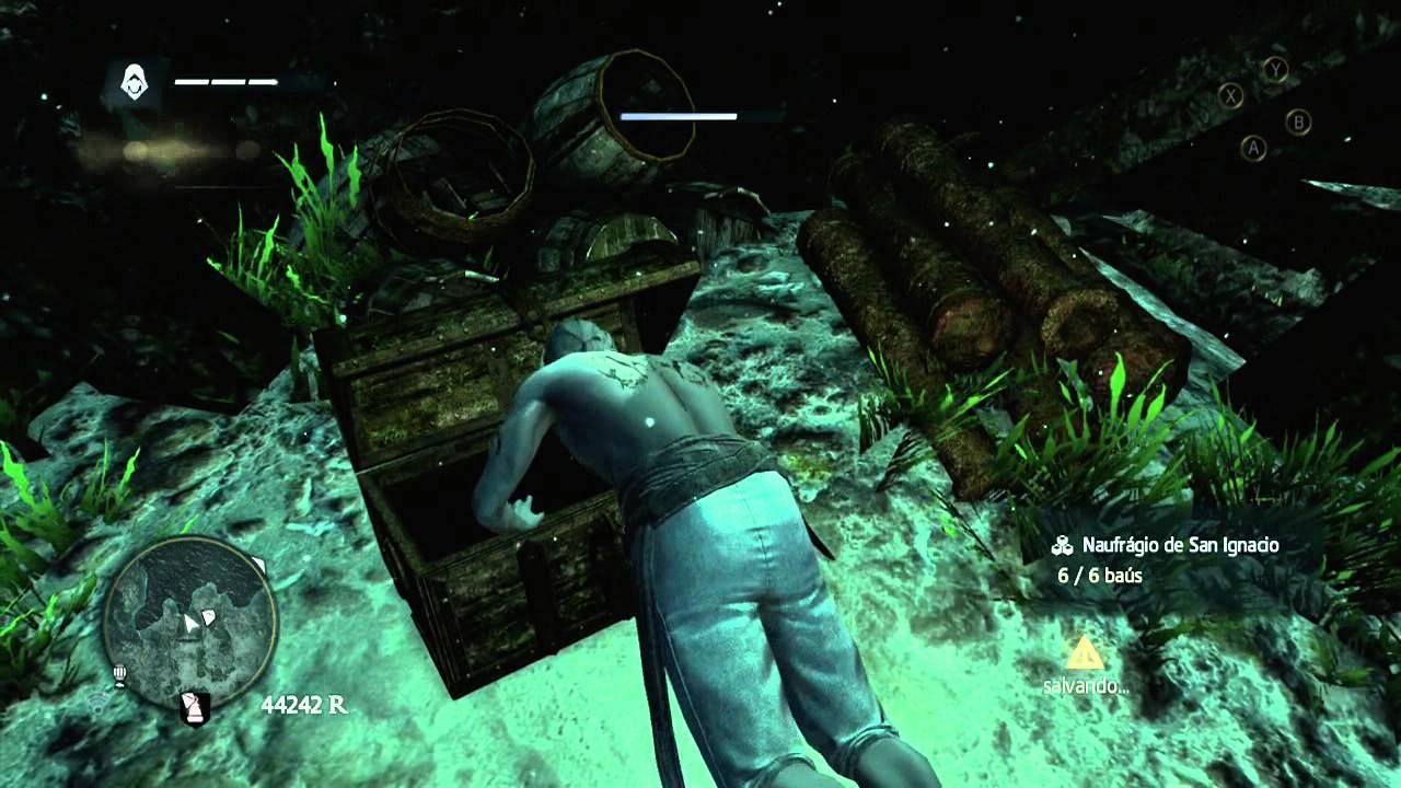 Assassins Creed 4 Black Flag - Planta Casco de Elite - YouTube
