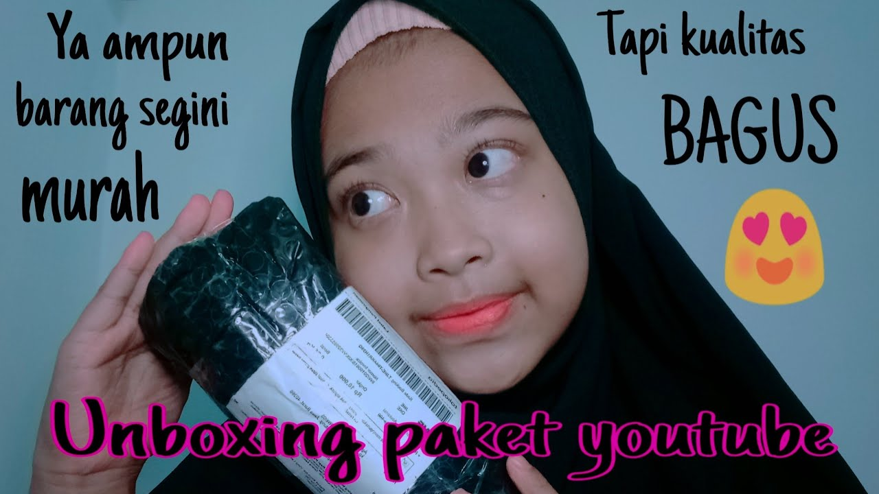 Unboxing&Review paket youtube