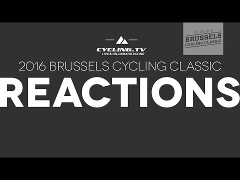 2016 Brussels Cycling Classic Post Race Interviews