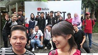 Ketemu cewek Jepang di YOUTUBE FANFEST Bandung ft. Senpaifuoka Fikuri desu YTFFID