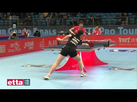 Ding Ning CHN V Joanna Parker ENG - ITTF Pro Tour Grand Finals
