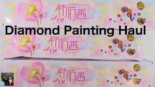 5D DIY Diamond Painting Haul Homfun Ali Express   Arts & Crafts   PaulAndShannonsLife