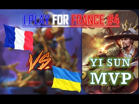 Mobile Legends : France VS Ukraine – INSANE YI DAMAGE !-  Episode #4 – Feb 21