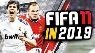 FIFA 11 but it's in 2019...