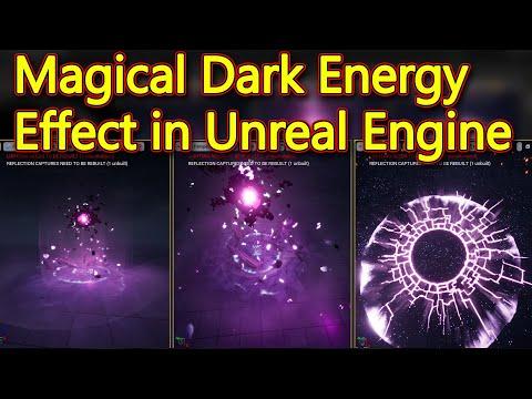 Unreal Engine Magical Dark Energy Breakdown