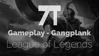 League of Legends - Gangplank e Black Market Brawlers - Gameplay em 1080p 60fps