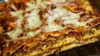 Lasagna (Beef & Mushroom) Recipe