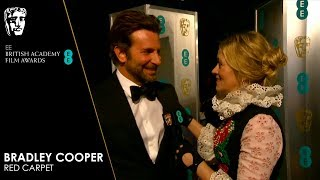 Bradley Cooper on A Star is Born - Red Carpet Interview | EE BAFTA Film Awards 2019
