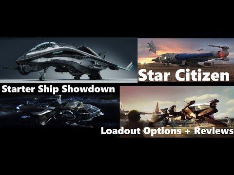 Star Citizen: Alpha 3.0 Prep - Starter Ship Showdown