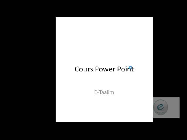 11 MS PowerPoint : Onglet Mise en Page : Diapositive Portrait et paysage