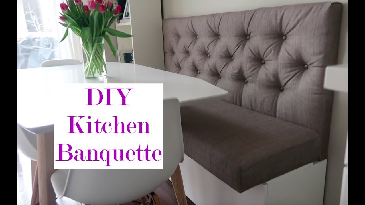 Diy Kitchen Banquette Life Lessons With Mr X Youtube