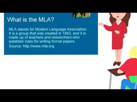 How To Write MLA 8th Edition (2017) Paragraphs And Papers