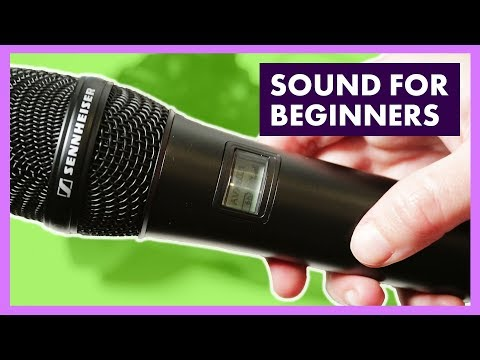 How to Record Audio and Clean it Up | Sound Workshop for Beginners tutorial
