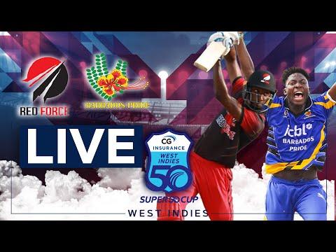 🔴LIVE Trinidad & Tobago vs Barbados | CG Insurance Super50 Cup