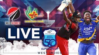 🔴LIVE Trinidad & Tobago vs Barbados   CG Insurance Super50 Cup
