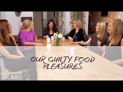 Kate Thornton, Tamzin Outhwaite and Julie Graham talk guilty food pleasures