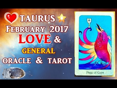 TAURUS FEBRUARY  2017 FREE LOVE & general tarot & oracle WORTH PERSEVERING FOR