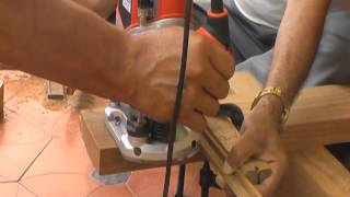 Making Tenons With Plunge Router - 3