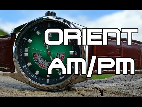 "Orient CFN01002EH ""AM/PM"" Review, Measurements and Lume + Story time"