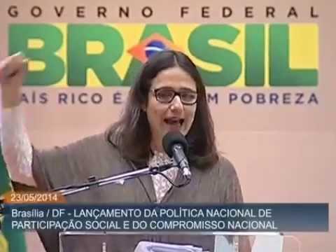 Vera Masagão da ABONG na Arena da Participação Social 2014