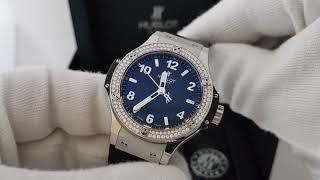 Оригинальные часы Hublot Big Bang Quartz 38mm обзор!