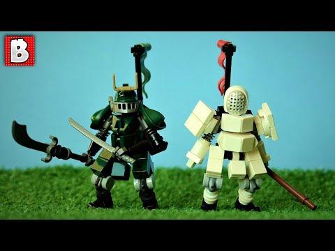 Beautiful Ancient Warriors LEGO Custom Build | TOP 10 MOCs
