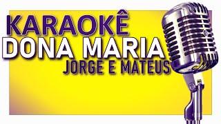 Baixar 🎤 KARAOKÊ - Dona Maria - Thiago Brava ft. Jorge