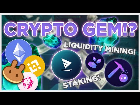This new Crypto GEM?! lets you earn money staking and liquidity mining!