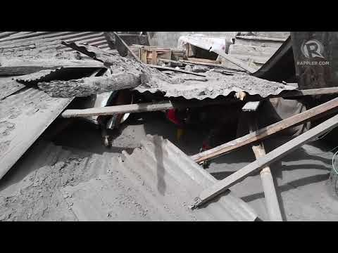 Fissures In Agoncillo, Batangas Caused By Taal Restiveness
