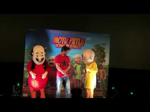 """MOTU PATLU KING OF KINGS"" TRAILER LAUNCH VIDEO PART 2 thumbnail"