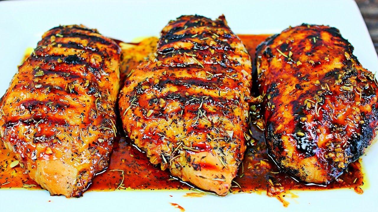 Honey Garlic Grilled Chicken Recipe - How to Grill Tender Juicy Chicken