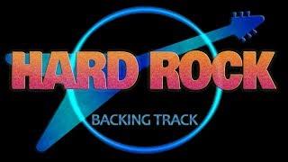 Hard Rock 80s Glam Metal Guitar Backing Track D Minor Jam