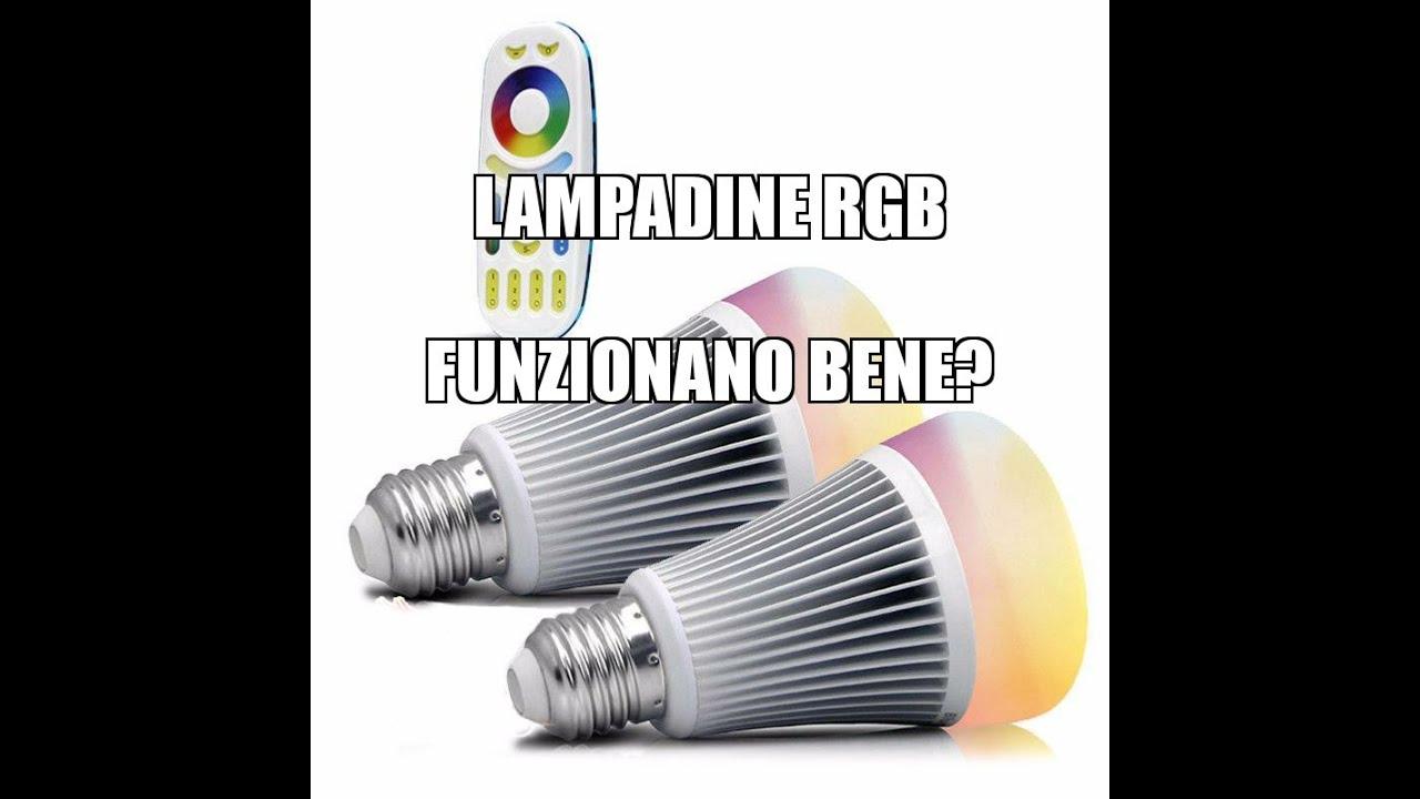 Lampada Led Con Telecomando.Funzionamento Lampadina Led Rgb 6w Con Telecomando Wifi 2 4 Ghz