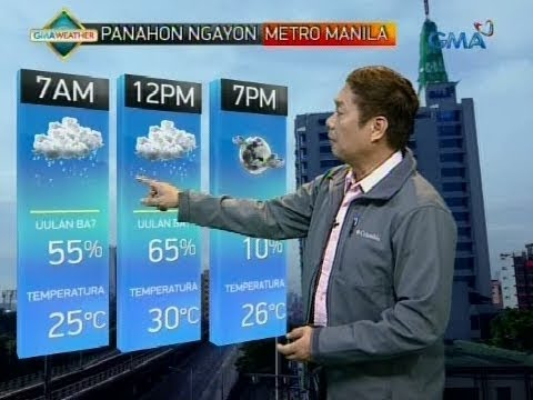 UB: Weather update as of 6:04 a.m. (December 8, 2017)