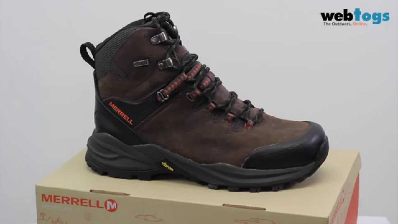 a5ffc7c5dff2e9 Merrell Phaserbound Waterproof Boots - 2016 Hiking Footwear Collection
