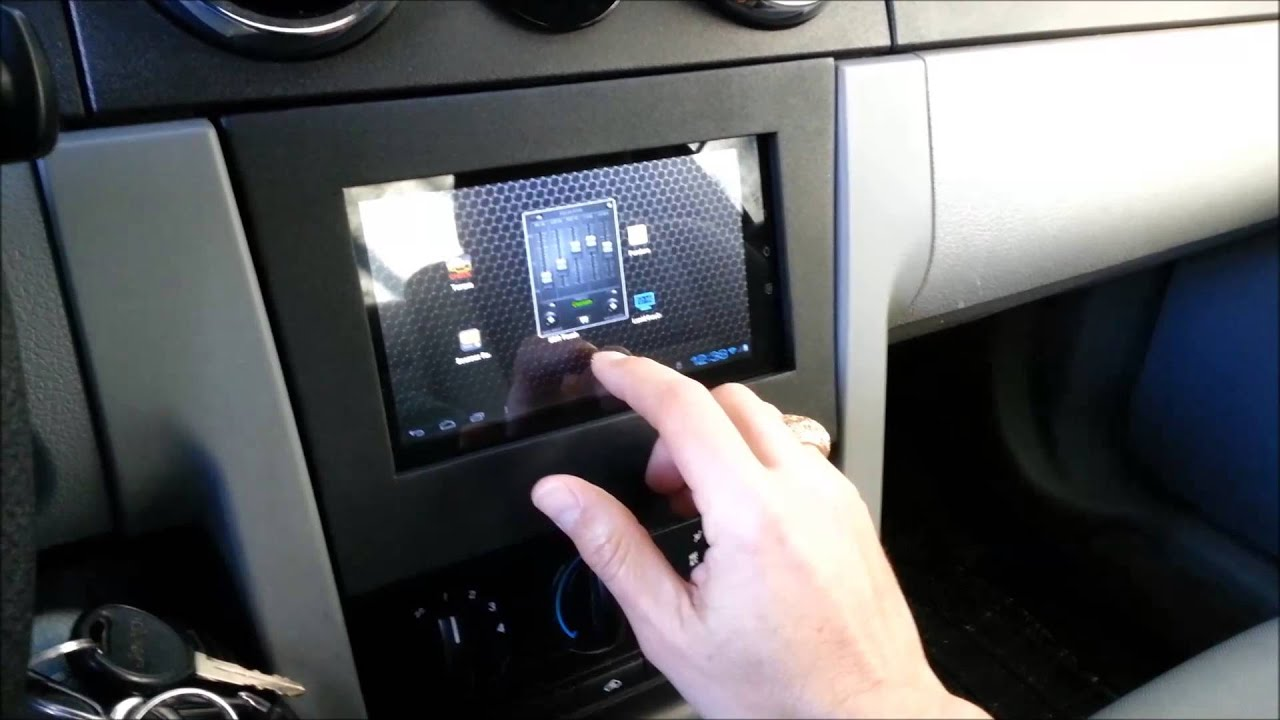 Android car tablet on screen volume control youtube greentooth Image collections