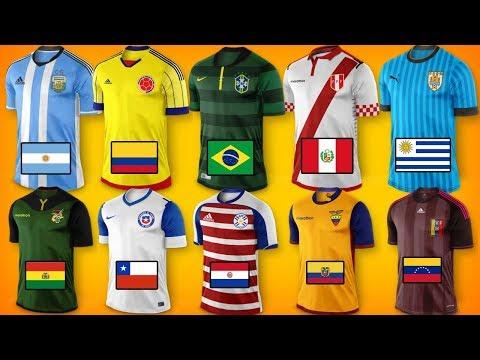 Nuevas camisetas COPA AMERICA 2019 - 동영상