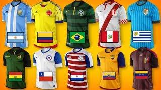 Nuevas camisetas COPA AMERICA 2019