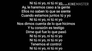 (Lyrics)Jennifer Lopez - ni tù ni yo