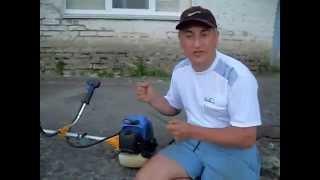 видео регулировка карбюратора бензокосы