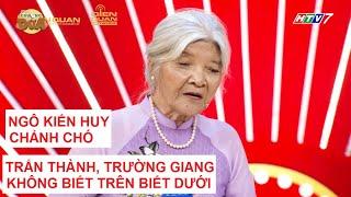"""""""Thánh chửi"""" 75 tuổi đến Thách Thức Danh Hài 2 mùa để """"chửi Ngô Kiến Huy, Trấn Thành, Trường Giang"""