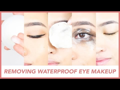 BEST WAYS TO REMOVE WATERPROOF EYE MAKEUP