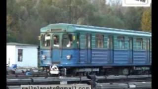 "Moscow metro depot ""Fili"" /  Электродепо ""Фили"""