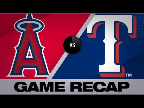 Pence's Walk-off Hit Caps Rangers' Comeback | Angels-Rangers Game Highlights 8/21/19