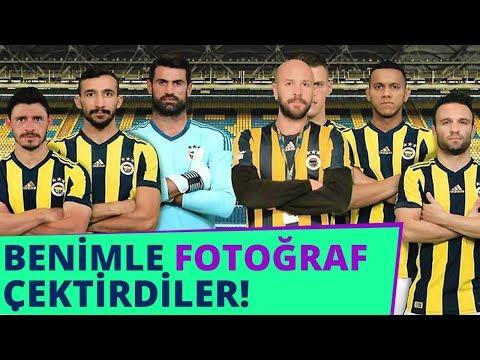 SOYUNMA ODASINA GİRDİM (Fenerbahçe Stadyumu Gezdim)